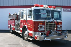 First Class A Pumper built in Hamburg NY