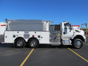 Northborough, MA Fire Department - Stainless Steel Pumper Tanker - Officer Side