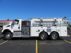 Northborough, MA Fire Department - Stainless Steel Pumper Tanker - Driver Side