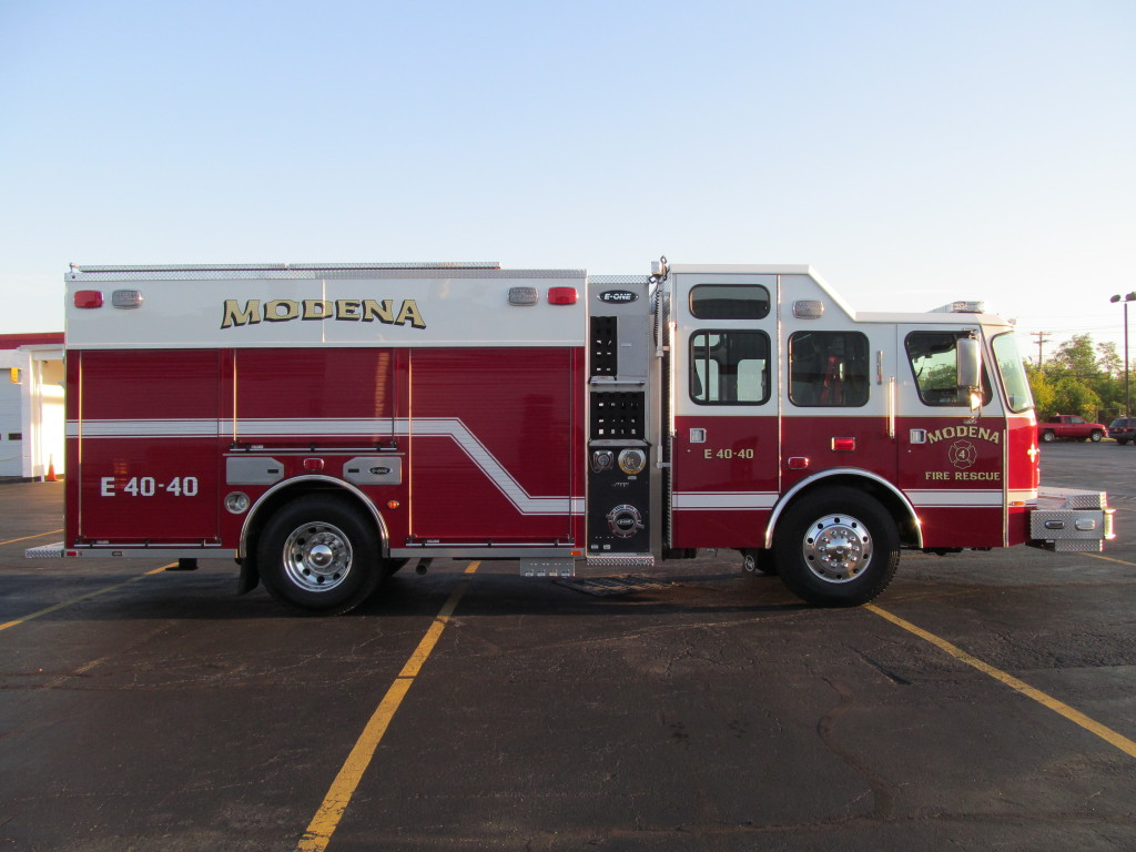 E-ONE Stainless  eMAX Pumper