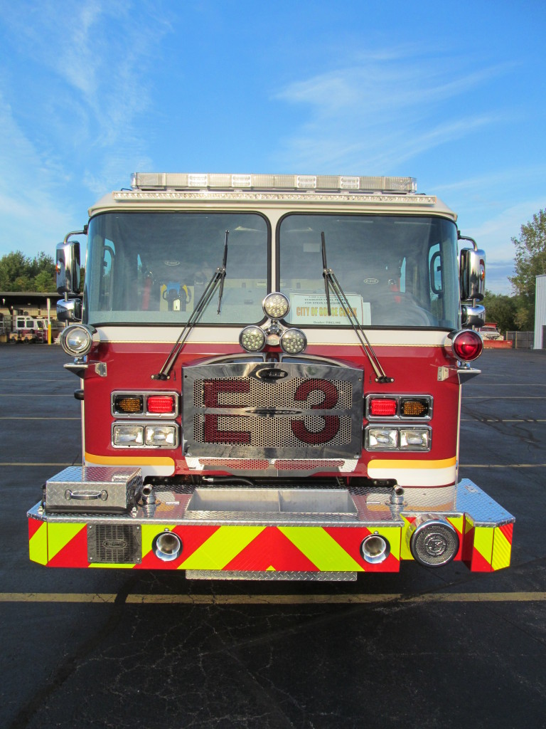 E-ONE Stainless Pumper - Goose Creek Fire Dept. (Front)